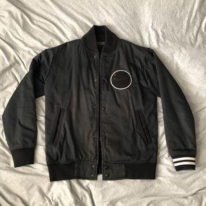 Trivmvir The Constantine Black Bomber Jacket